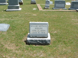 Willie Mcfall Moore