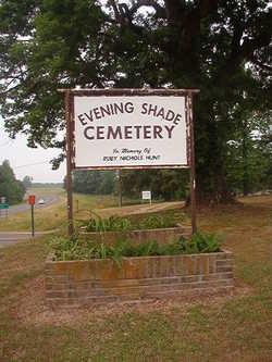 Evening Shade Cemetery