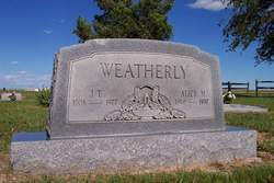 """John Texhoma """"Homa"""" Weatherly"""