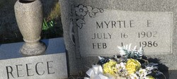 Myrtle E <I>Moore</I> Reece