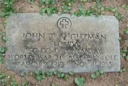 Pvt John Thomas Aughtman
