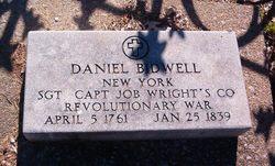Sgt Daniel Bidwell