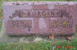 Nettie Virginia <I>Hamlett</I> Burgin