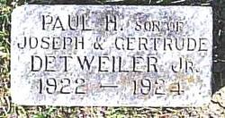 Paul H. Detweiler, Jr