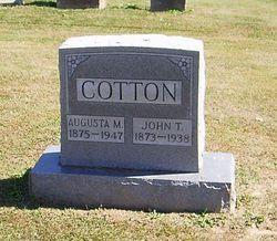Augusta M <I>Patillo</I> Cotton