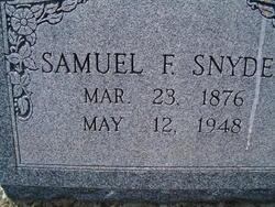 Samuel F. Snyder