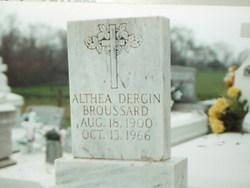 Althea <I>Dargin</I> Broussard