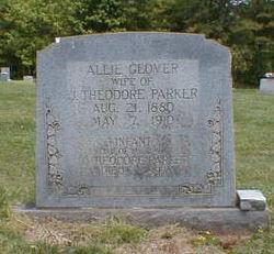 Allie <I>Glover</I> Parker
