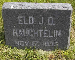 "Jacob Diehl ""J.D."" Haughtelin"