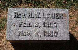 Rev H W Lauer