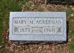 Mary Magdalena <I>Christman</I> Ackerman