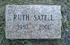 Ruth Sadie <I>Honeycutt</I> Satell