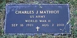 Charles J Mathiot