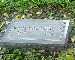 William Irl Adams, Sr