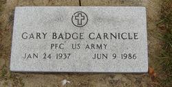 Gary Badge Carnicle