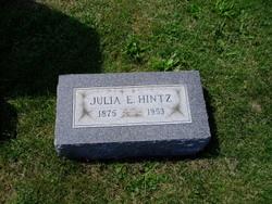 Julia E. <I>Zahn</I> Hintz