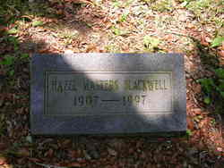Hazel <I>Masters</I> Blackwell
