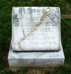 "Maria Louisa ""Louise"" <I>Garland</I> Longstreet"