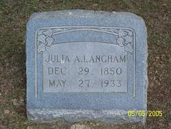 Julia A. Langham