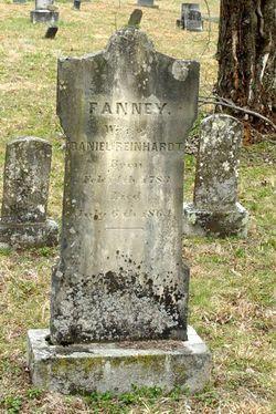 Frances Fannie <I>Hoyle</I> Reinhardt