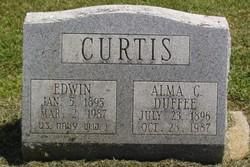 Alma C <I>Duffee</I> Curtis