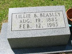 Lillie Alma <I>Brown</I> Beasley