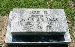 Jessie Lee Adams