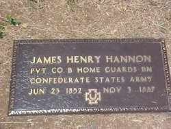 Pvt James Henry Hannon