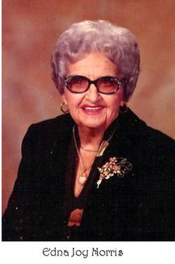 Edna Joy <I>Caple</I> Norris