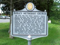 Sudley United Methodist Church Cemetery