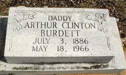 Arthur Clinton Burdett