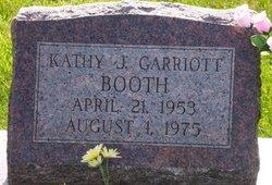 Kathy Jane <I>Garriott</I> Booth
