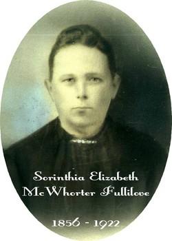 Sorinthia Elizabeth <I>McWhorter</I> Fullilove