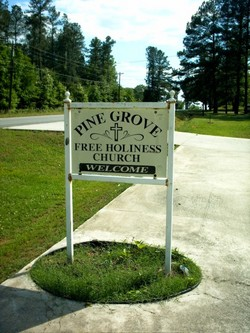Pine Grove Free Holiness Church Cemetery