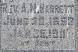 Rev Albert Marcus Barrett