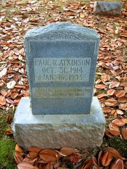 Paul R Atkinson