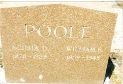 William Bosier Poole