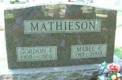 Mabel Elizabeth <I>McVicker</I> Mathieson