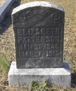 Elizabeth <I>Waldrop</I> Patterson