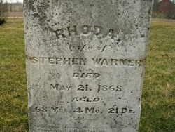 "Rhoda ""Bede"" <I>Skinner</I> Warner"