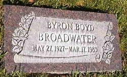 Byron B Broadwater
