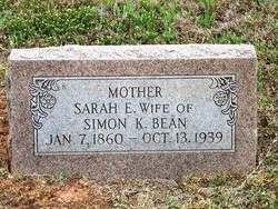 Sarah Ellen <I>Moss</I> Bean