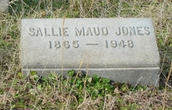 Sallie Maud Jones