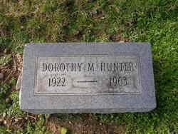 Dorothy M Hunter