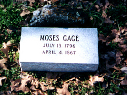 Moses Gage