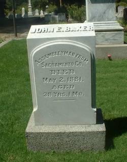 John Edye Baker
