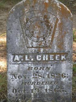 A. L. Cheek
