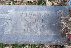 Zelma Inez <I>Wood</I> Stone