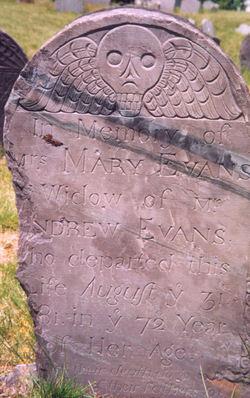 Mary <I>Richardson</I> Evans