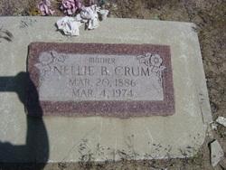 Nellie Beatrice <I>Gerking</I> Crum